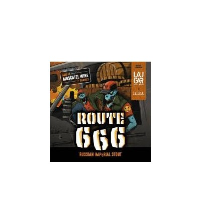 Laugar with Letra Route 666...